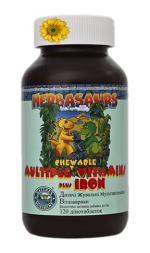 Herbasaurs Chewable Multiple Vitamins NSP